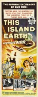 This Island Earth - double featured with FORBIDDEN PLANET! poster