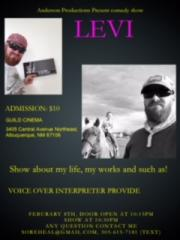 Live Comedy with Levi Anderson!! poster