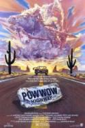 Powwow Highway - double featured with Dead Man poster