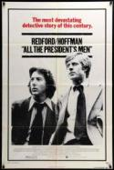 All The President's Men - double featured with A FACE IN THE CROWD poster