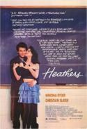 Heathers - the 1988 jet black teen comedy classic! poster