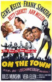On The Town - the 1949 Technicolor Musical Masterpiece! poster