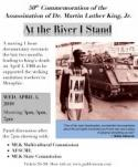 At The River I Stand - in commemoration of the 50th anniversary of the assassination of Martin Luther King poster