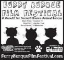 Furry Burque Film Festival - a benefit for Second Chance Animal Rescue poster