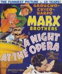 A Night At The Opera - A HAPPY NEW YEARS MARX BROS.  DOUBLE FEATURE! poster