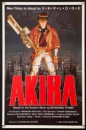 Akira - the 1988 ultra classic anime! poster