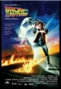 Back to the Future - the original Michael J. Fox 80s hit! poster