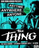 The Thing - John Carpenter's 1982 classic! poster