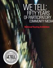 We Tell: Fifty Years of Participatory Community Media poster