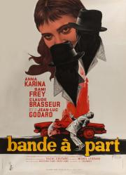 Band of Outsiders - Godard's 1964 classic - available now in our at-home 'virtual cinema' safe viewing! poster