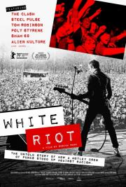 White Riot:  The Story of Rock Against Racism (RAR) & the fanzine 'Temporary Hording - available NOW for 'virtual cinema poster