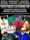 GUILD CINEMA'S ANNUAL MOVIE POSTER AUCTION SALE!! poster